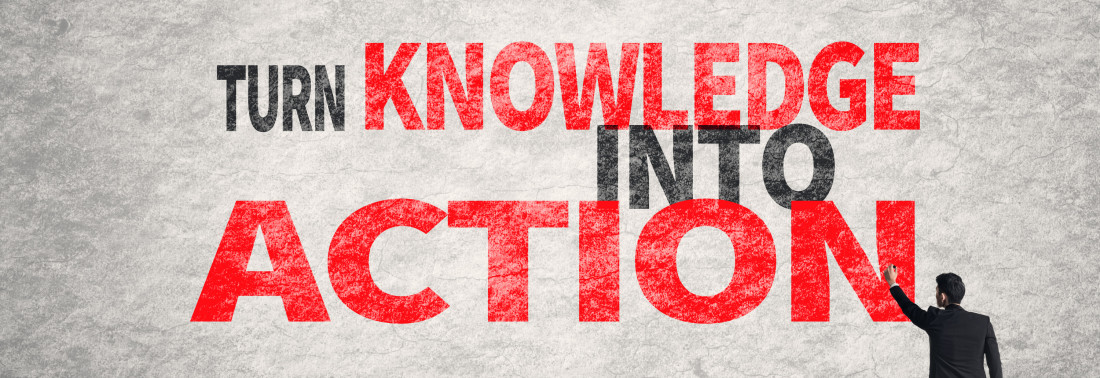 We turn knowledge into actions that lead to results